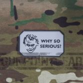 Gun Point Gear Why So Serious? Morale Patch